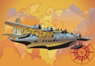 Rerto Wasserflugzeug