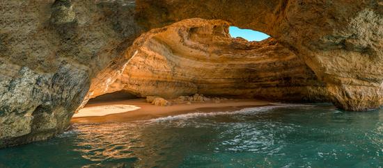Benagil beach caves