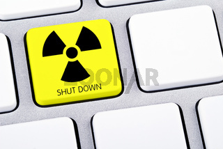 Shut Down Tastatur