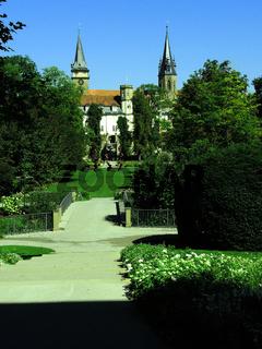 Landesgartenschau Oehringen mit Schloss und Stiftskirche