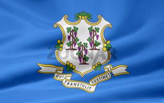 Flagge von Connecticut - USA