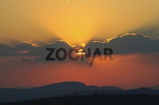 Sonnenuntergang in Südafrika - Sunset in South Africa