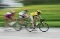 Radrennfahrer - Impression/Typical, mitgezogen/verwischt