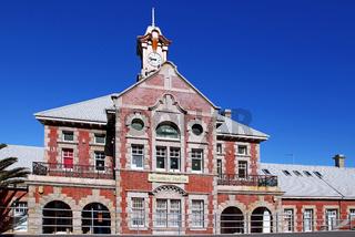 Bahnhof in Muizenberg, Südafrika, train station Muizenberg, South Africa