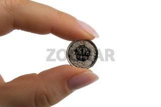 Halber Schweizer Franken, 50 Rappen