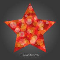 glitzernder Weihnachtsstern