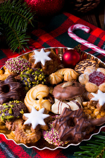 fresh and tasty Christmas cookies