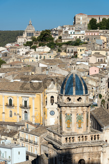 Die alte Barockstadt Ragusa Ibla in Sizilien