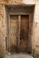 Sansibar Stonetown alte Türen
