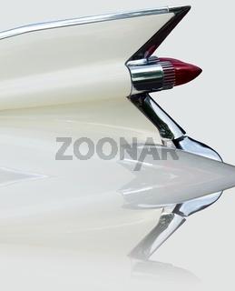 Heckflossenstudie Cadillac Sedan deVille (um 1960) gespiegelt
