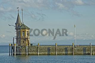 Hafeneinfahrt Konstanz