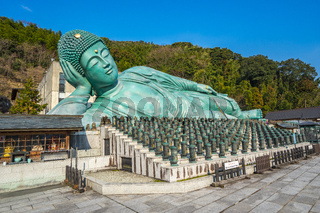 The Nehanzo of Nanzoin Temple in Sasaguri, Fukuoka Prefecture, Japan