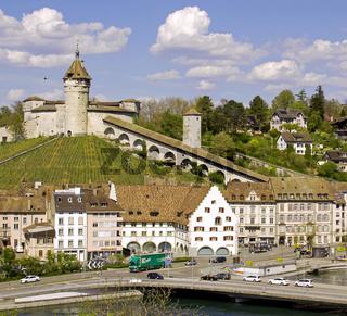 Schaffhausen mit Festung Munot, Schweiz