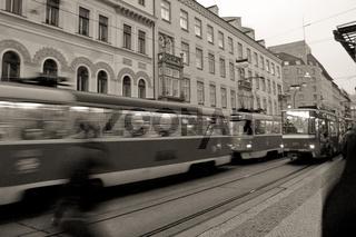 Rush-Hour in der Altstadt von Prag