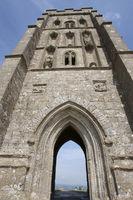 Grossbritannien Glastonbury Tor Tor zur Unterwelt