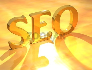 Seo Gold Text