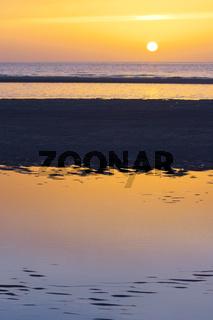 Sonnenuntergang Insel Amrum