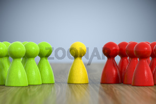 group of game figures
