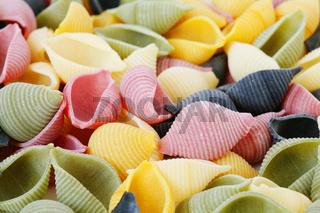 Colorfull pasta
