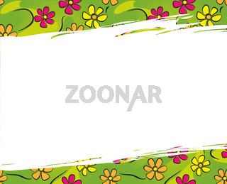 Hintergrund mit Blumen - Flower Background