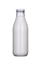 Bottle of milk isolated, clipping-path included