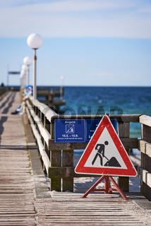 Seebrücke Rerik, Deutschland