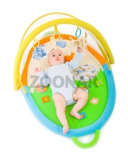 Baby gym isolated