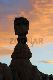 Thors Hammer kurz vor Sonnenaufgang, Sunrise Point, Bryce Canyon