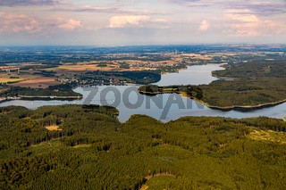 Möhnesee am Rand des Naturparks Arnsberger Wald