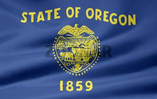 Flagge von Oregon - USA