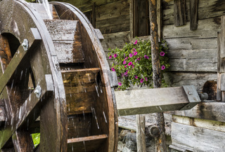 Thuringer Hutte Water Wheel