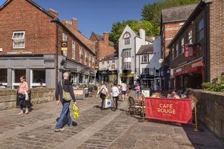 Shopping Silver Street Durham City UK