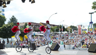 Stadtfest 2012 in Eisenhuettenstadt