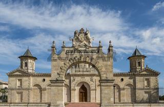 Front and Fence Chateau Cos d'Estournel