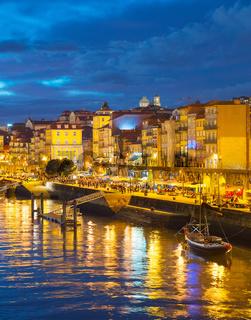 Porto embankment, Portugal