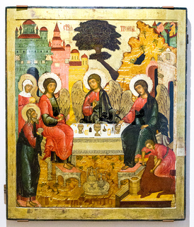 The Old Testament Trinity, 17th century