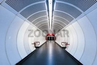 U1 Station Hauptbahnhof, Wien