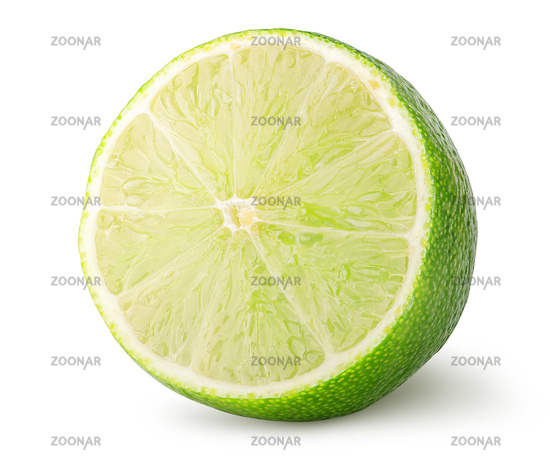 Half of lime rotated