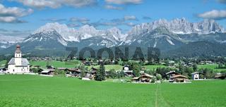 Going am wilden Kaiser in Tirol,Oesterreich
