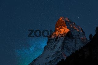 Zermatt. Matterhorn.
