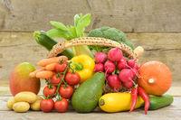 Biogemüse vom Bauernmarkt