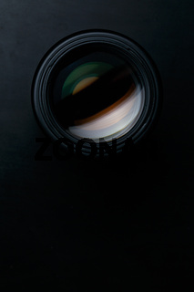 Front view of photo lens