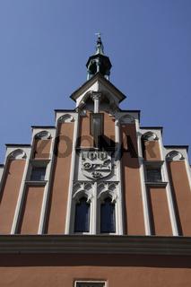 Rathaus, Straubing, Deutschland