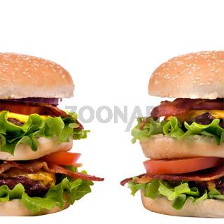 Hamburger Series (Twin Burgers)