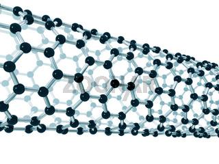 Detail of a carbon nanotube