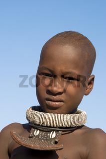 Himba Junge, Namibia, Afrika, Himba boy, Africa, portrait