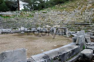 Theater  Priene  Türkei