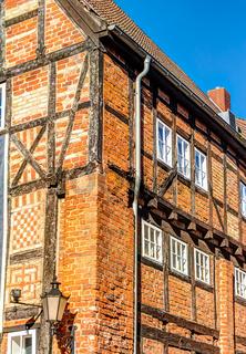 Historische Backstein-Architektur in der Altstadt von Wismar
