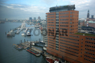 Hanseatic Trade Center in Hamburg