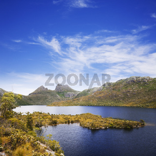 Cradle Mountain and Lake Dove